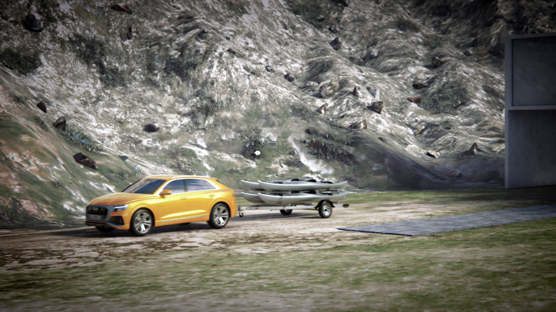 Audi Q8 – Trailer Maneuver Assist