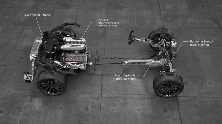 drivetrain audi technology portal rh audi technology portal de Audi A4 2007 Audi A4